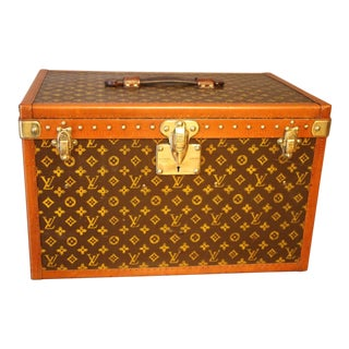 Louis Vuitton Steamer Trunk, Louis Vuitton Hat Trunk For Sale