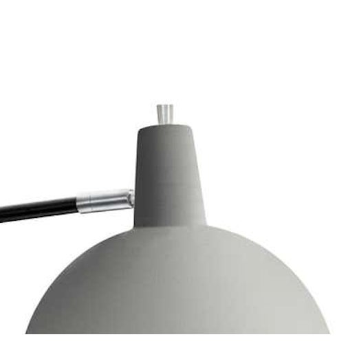 Contemporary J.J.M. Hoogervorst Model 1702 'Paperclip' Wall Light for Anvia in Gray For Sale - Image 3 of 6