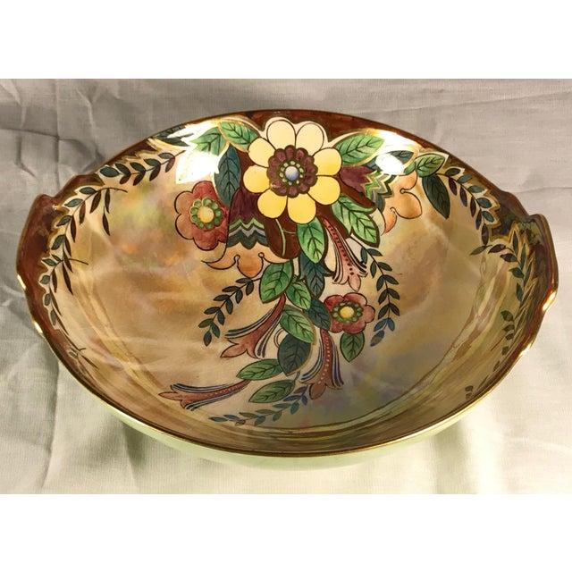 Vintage Royal Winton Grimwades Footed Trinket Dish For Sale - Image 11 of 11