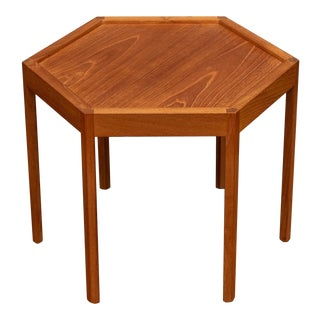 Scandinavian Modern Side Table by Hans Andersen For Sale