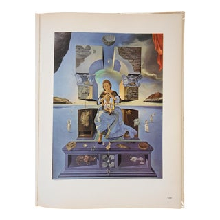 Vintage Surrealist Lithograph-Salvador Dali-France-1957 For Sale