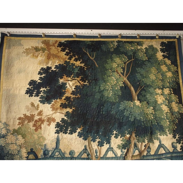 17th Century Park Scene Tapestry From France For Sale - Image 9 of 13