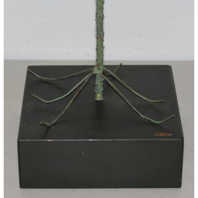 Copper 1960s Copper Metalwork Free Standing Tree by Curtis Jere For Sale - Image 7 of 9