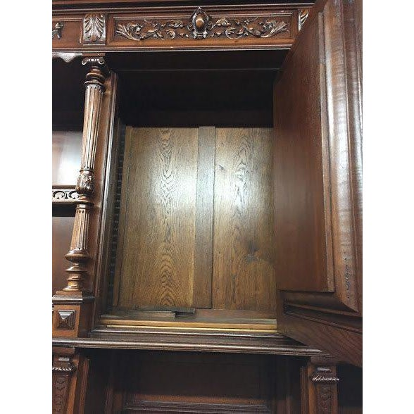 Late 19th Century Antique French Renaissance Style Cabinet For Sale - Image 11 of 13