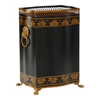 Carlton Wastebasket For Sale
