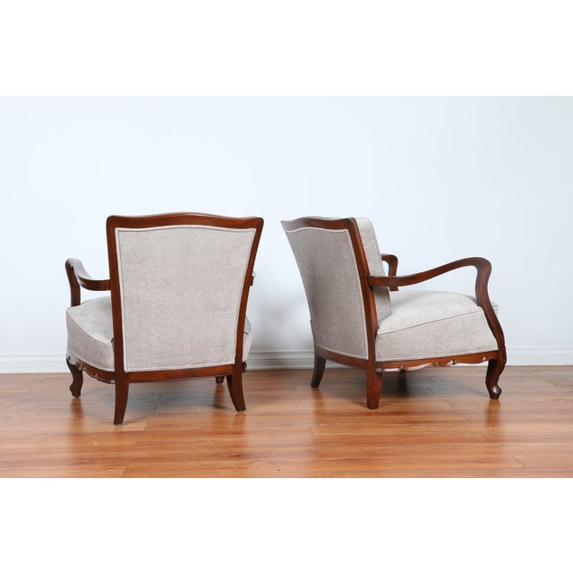 1940's Reupholstered Chair - Pair - Image 8 of 11