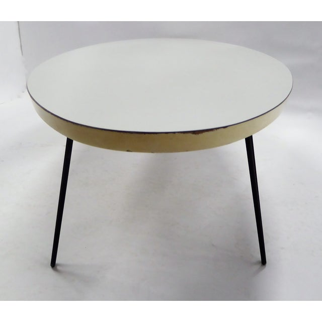 Lacquer Mid-Century Modern Long Surfboard Cocktail Coffee Table C. 1950s For Sale - Image 7 of 13
