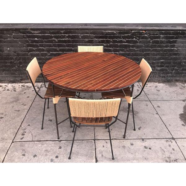 Beautiful Mid Century Modern Dining Set by Arthur Umanoff For Sale - Image 9 of 9