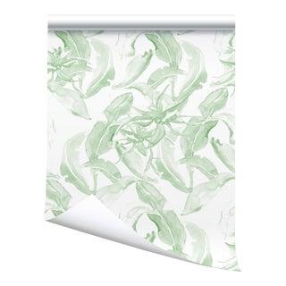 "Victoria Larson Stay Wild Wallpaper Sample - Green - 10x10"" For Sale"