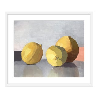 "Medium ""Three Lemons"" Print by Caitlin Winner, 25"" X 29"" For Sale"