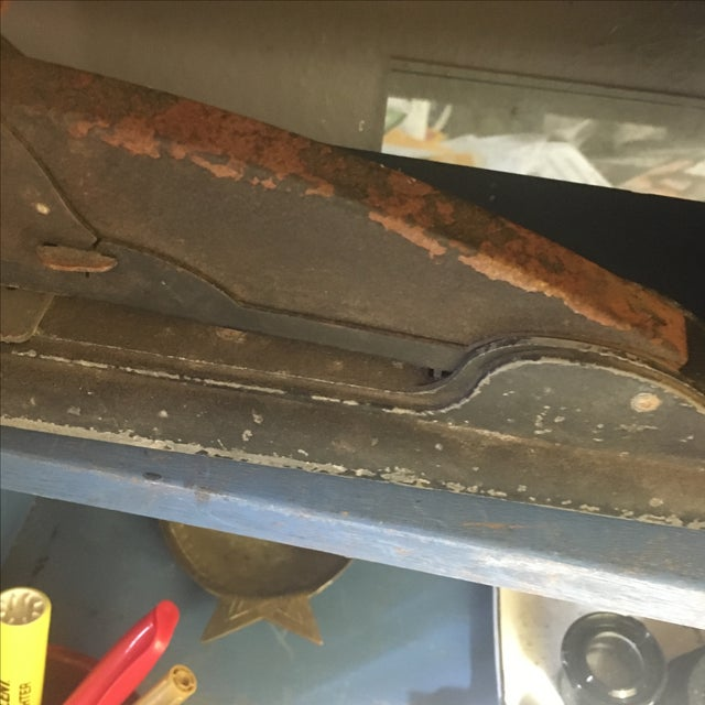 Vintage Industrial Rusty Stapler - Image 6 of 7