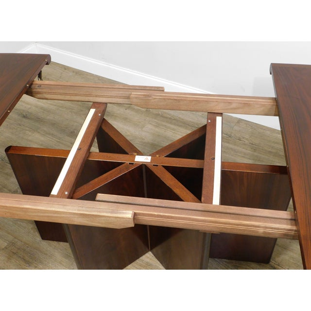 Danish Modern Oval Teak Expandable Dining Table by Ansagar Mobler For Sale - Image 9 of 13