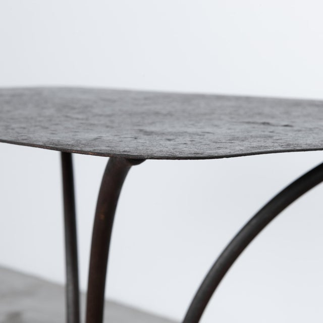 Rustic European Early 20th Century Antique French Garden Table For Sale - Image 3 of 5