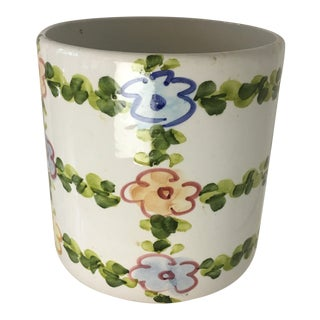 Italian Ceramic Planter For Sale