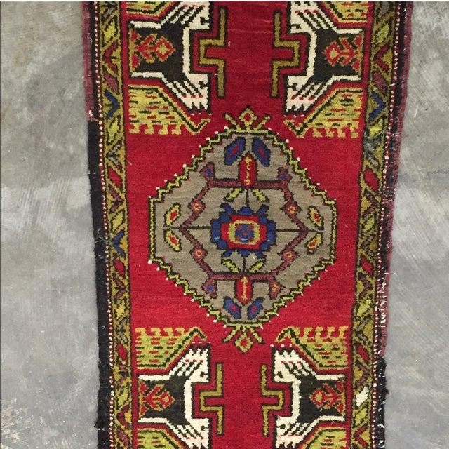 Anatolian Persian Rug - 1′7″ × 3′1″ - Image 3 of 7