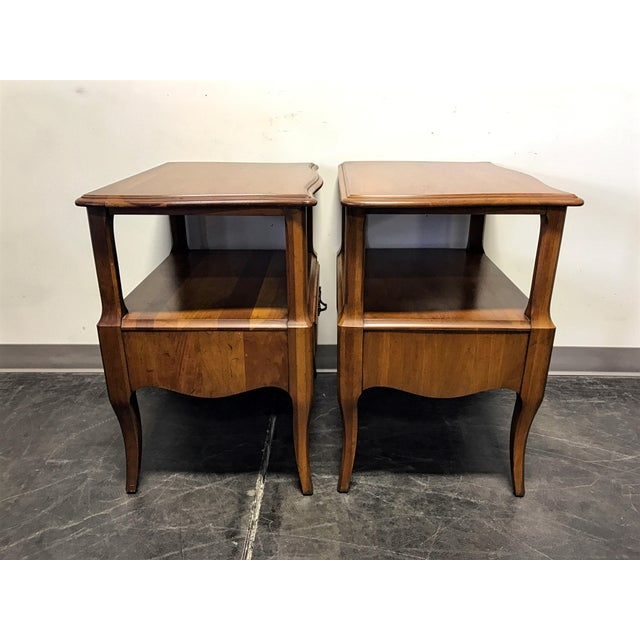 Davis Cabinet Co French Provincial Nightstands - A Pair - Image 7 of 11
