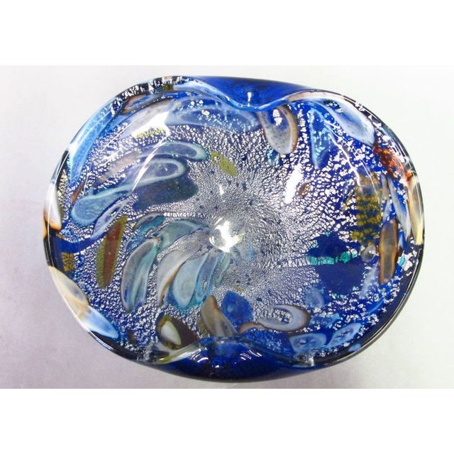 Blue Murano Glass Bowl - Image 2 of 4
