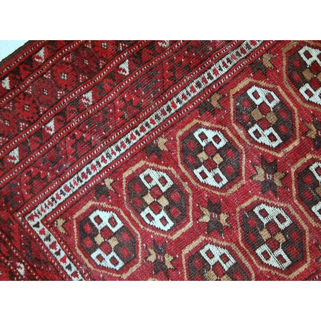 1920s Antique Afghan Adraskand Hand Made Prayer Rug - 2'7'' X 3'7'' For Sale In New York - Image 6 of 10