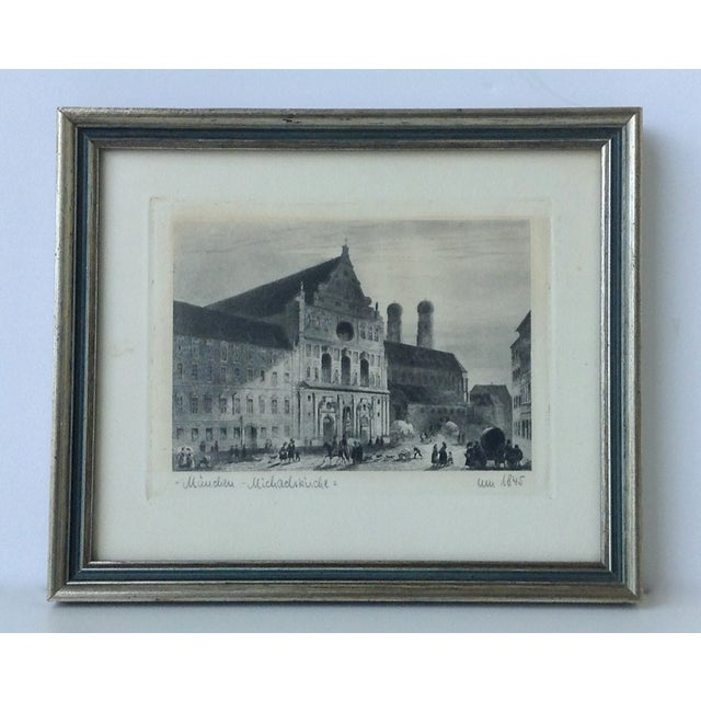 Gustavian (Swedish) Signed German Stone Etchings - A Pair For Sale - Image 3 of 11