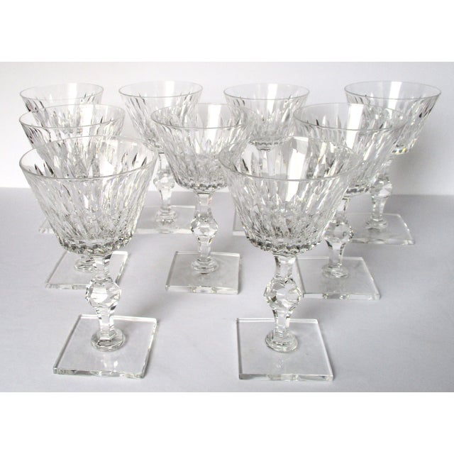 Hawkes Champagne/Sherbet Crystal Stems - Set of 9 For Sale - Image 4 of 10