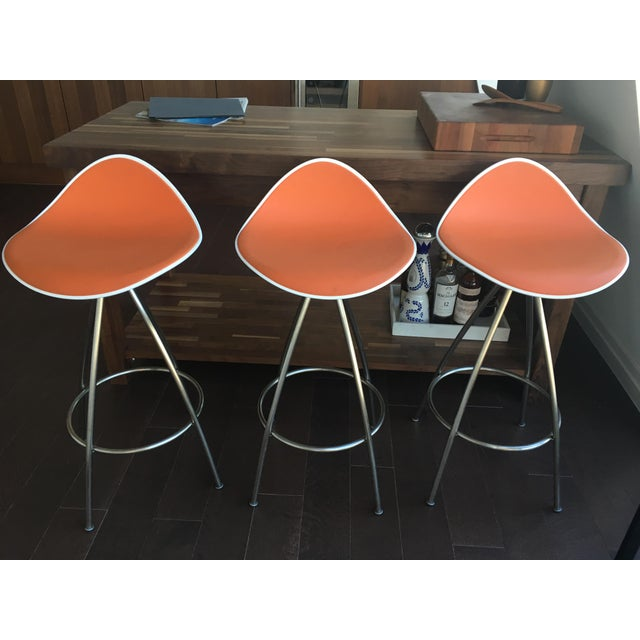 Onda Counter Stools - Set of 3 - Image 2 of 3