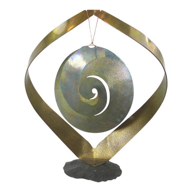 Vintage Brass Kinetic Sculpture - Image 1 of 10