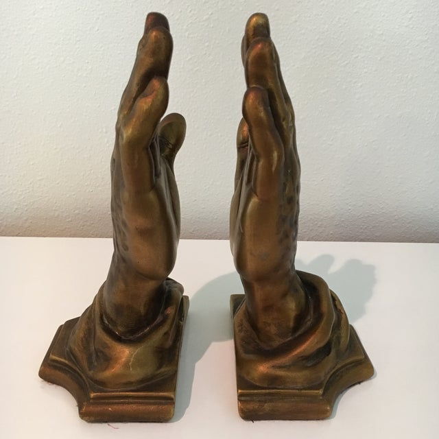 Figurative Mid-Century Roman Art Co. Robia Porcelain Hands - A Pair For Sale - Image 3 of 11