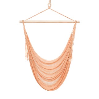 Nylon Alba Swing in Paloma Peach + Walnut Rod For Sale