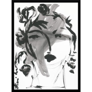 "Medium ""Black and White Portrait"" Print by Leslie Weaver, 24 X 32"" For Sale"