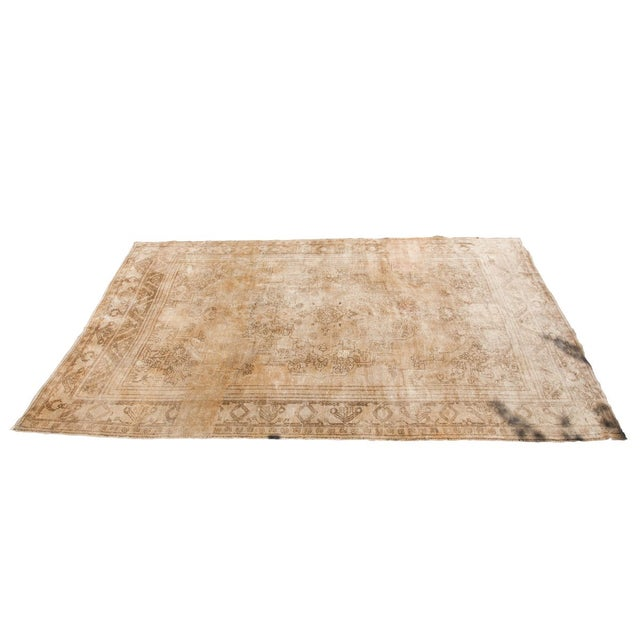 "Vintage Oushak Carpet - 6'10"" x 11'2"" - Image 1 of 6"