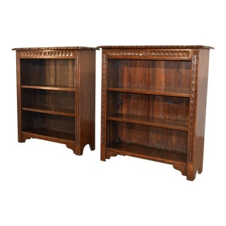 19th C Pair of Bookcases For Sale