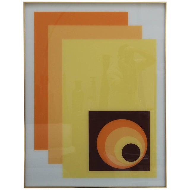 1970s Modern Op Wall Art by Turner For Sale - Image 11 of 11