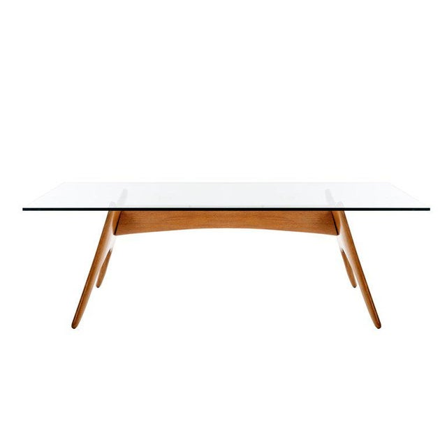 1970's California Craft Dining Table For Sale - Image 10 of 10