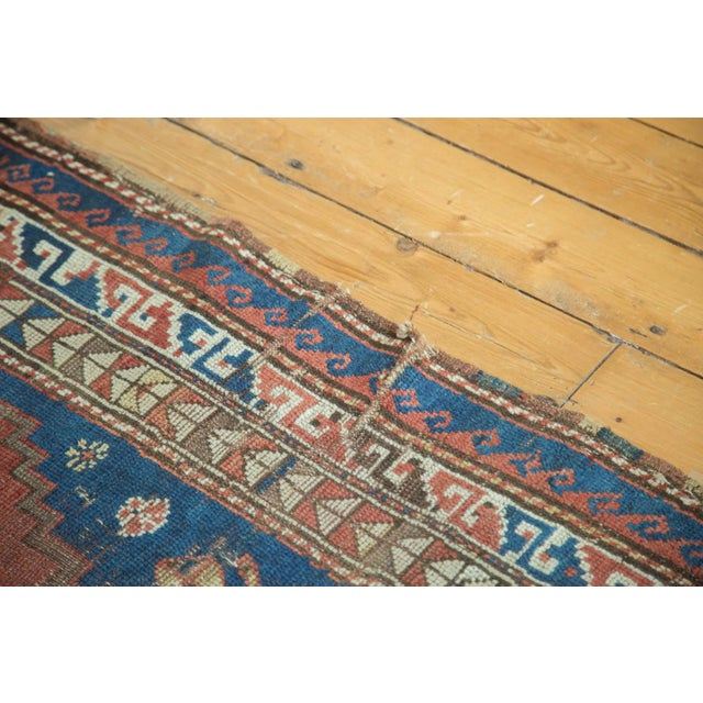 """Boho Chic Vintage Caucasian Rug - 3'6"""" x 6'6"""" For Sale - Image 3 of 10"""