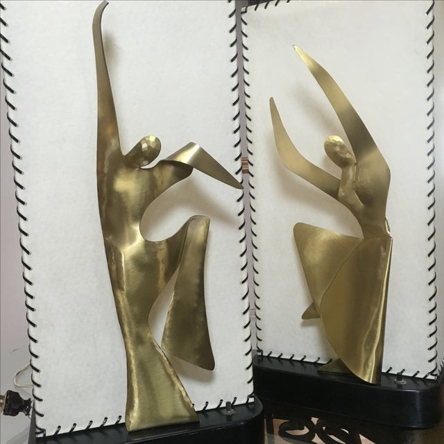 Mid-Century Modern Heifetz Lamps - a Pair - Image 8 of 10