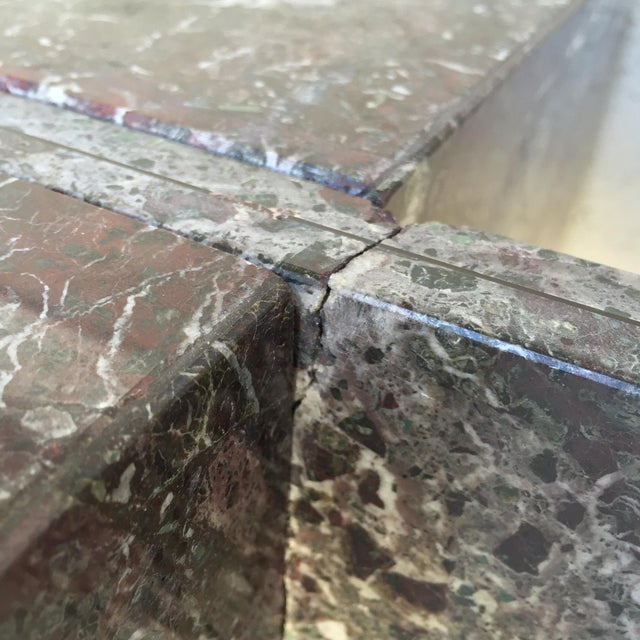 Italian Marble Dining Table Base - Image 7 of 11