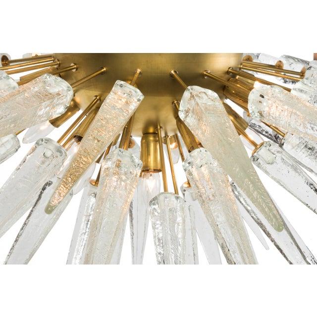 Sputnik Spike Chandelier with Murano Glass - Image 3 of 4