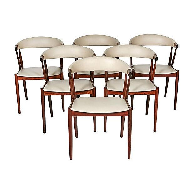 Danish Rosewood & Leather Dining Chairs - Image 12 of 12