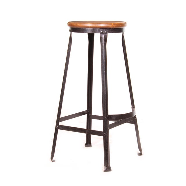 Industrial Factory Shop Stool For Sale - Image 3 of 13