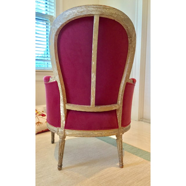 French Louis XV French Antique Chair For Sale - Image 3 of 4