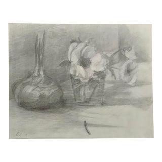 Original Still Life Drawing For Sale