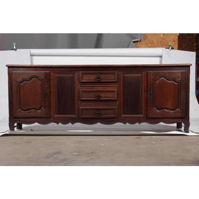 Louis XV French Country Buffet For Sale - Image 11 of 11