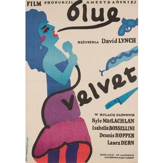 """Jan Mlodozeniec """"Blue Velvet"""" For Sale"""