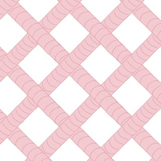 House of Harris Park Wallpaper, 30 Yards, Blush For Sale