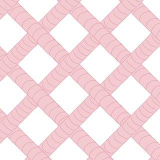 House of Harris Park Wallpaper, 30 Yards, Blush