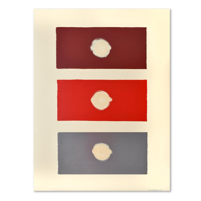 Red Domino Painting - 30 40 For Sale - Image 9 of 9