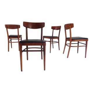 Thonet (Nyc) Compact Bentwood Cafe Chairs For Sale