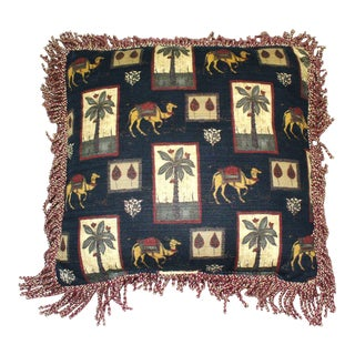 Middle East Oasis Pillow