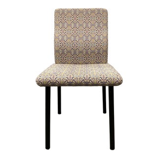 1980's Knoll Ettore Sottsass Mandarian Side Chair For Sale