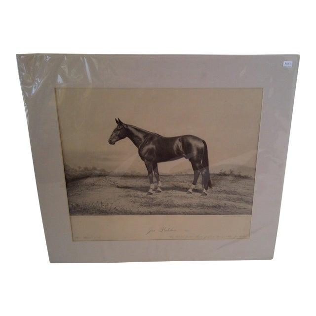 Joe Patchen Original Print Circa 1895 For Sale